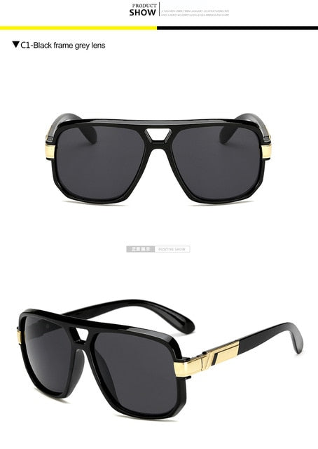 Square Sunglasses Luxury Flat Hot Women Sunglasses Cool Eyewear