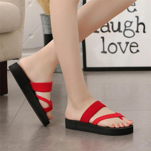 Women Summer Non-slip Platform Shoes Wedges Woman Outdoor Beach Slippers Sandals