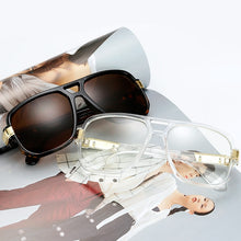 Load image into Gallery viewer, Square Sunglasses Luxury Flat Hot Women Sunglasses Cool Eyewear