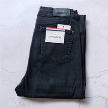 Load image into Gallery viewer, Autumn jeans women Black jeans Vintage High Waist Denim women spring Denim pants high elastic Skinny Pencil Stretch Jeans Femme