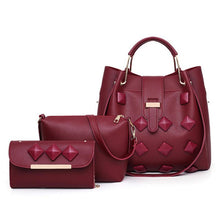 Load image into Gallery viewer, Female bag multi-piece cover mother bag shoulder diagonal female bag