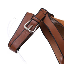 Load image into Gallery viewer, Summer Thick Heeled Women Sandals Pumps Flock Buckel Strap Thick High Heels Woman Shoes