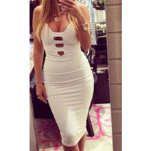 Load image into Gallery viewer, Women's Dress Bandage Bodycon Sleeveless Evening Party White Club Elegant New Hot Sale