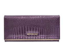 Load image into Gallery viewer, Women Wallets Brand Design High Quality Leather Wallet Female Hasp Fashion Dollar Price Alligator Long Women Wallets And Purses