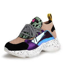 Load image into Gallery viewer, New women casual shoes luxury sports lacing Female shoes  fashion white sneakers women shoes Mixed colors Comfortable Soft