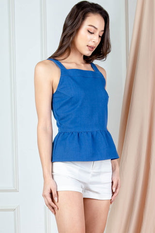 Bethanie Peplum Top (Light)