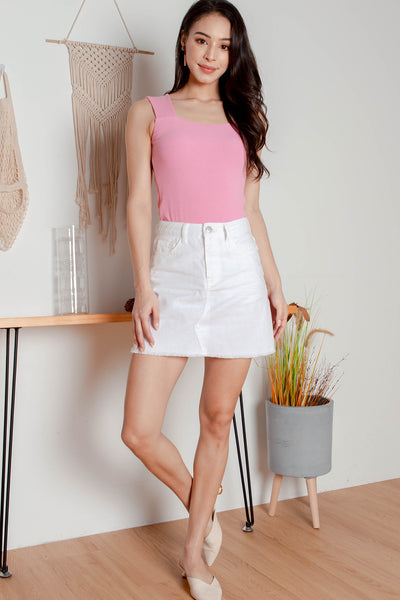 Everleigh Knit Tank Top (Bubblegum)