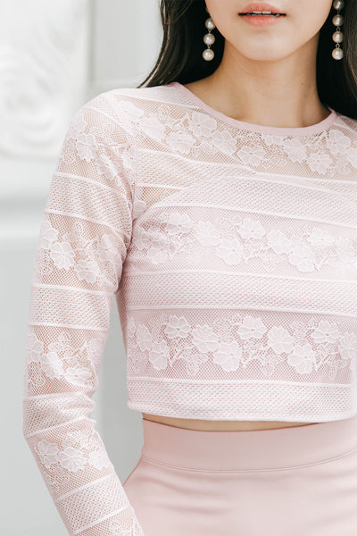 Florelle Lace Top (Blush)