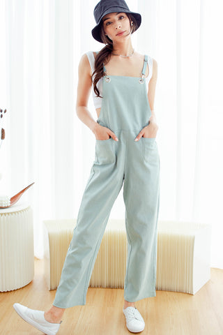 Karter Denim Jumpsuit (Light-wash)