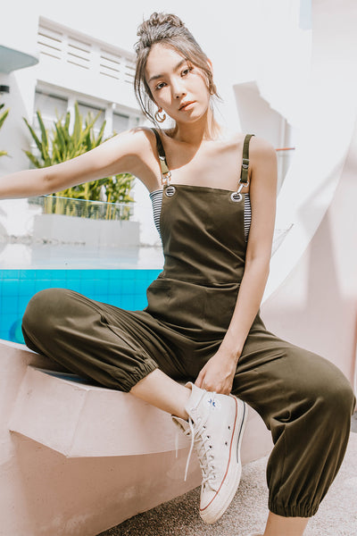 Kim Off-duty Jumpsuit (Olive)