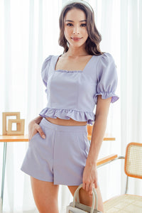 Leighton Everyday Shorts (Lavender)