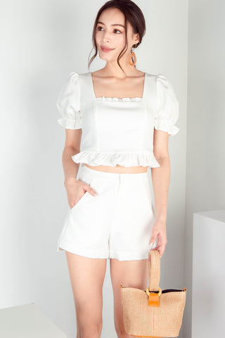 Leighton Everyday Shorts (White)