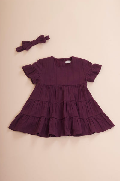 Mini Ashton Dress (Mulberry)