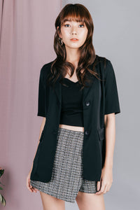 Tyller Belt Top (Black)