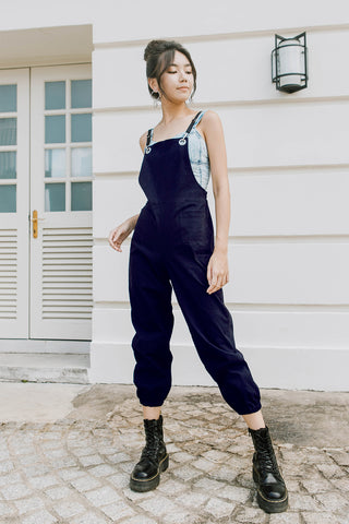 Kim Off-duty Jumpsuit (Navy)
