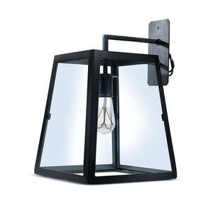 Wall Light - Industrial glass cage