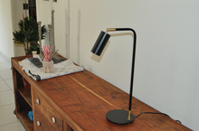 Load image into Gallery viewer, Table Lamp Black Adjustable