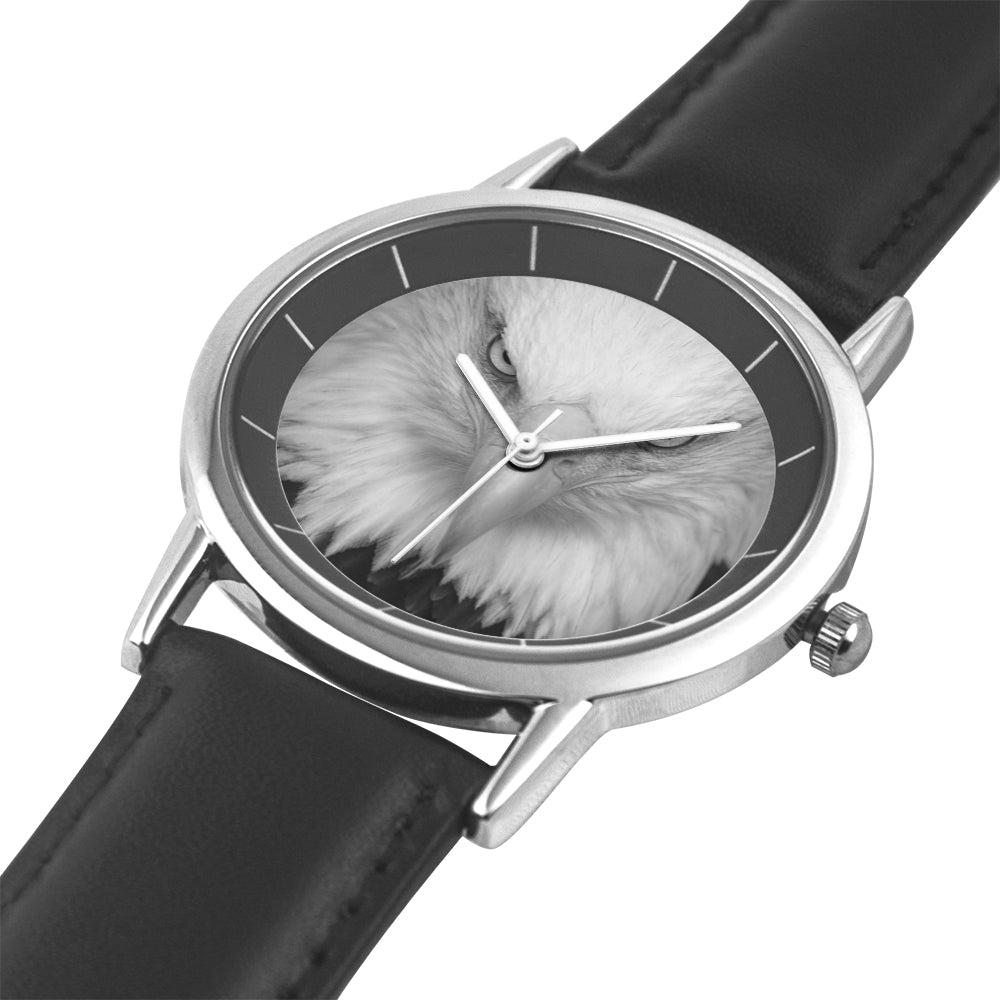 Black Water Resistance Quartz Watch