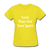 Lord, Pour Out Your Spirit T-Shirt