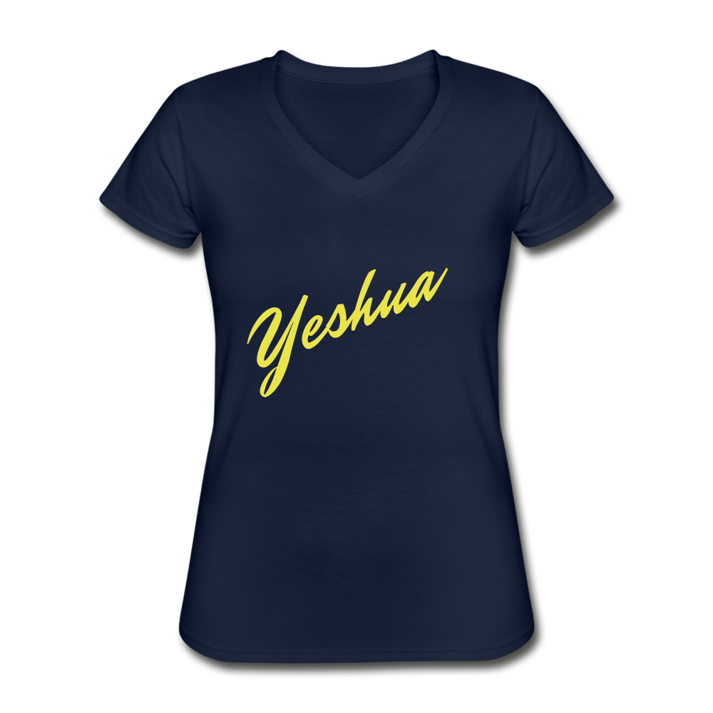Yeshua Women's V-Neck T-Shirt