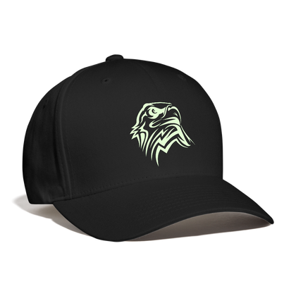Eagle Baseball Cap - black