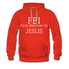 FBI: Firm Believer In Jesus Men's Hoodie