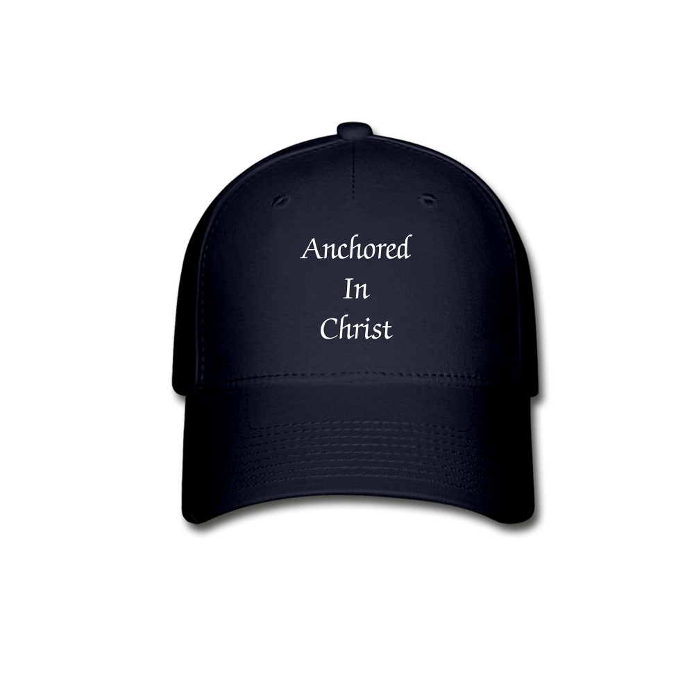 Anchored In Christ Baseball Cap