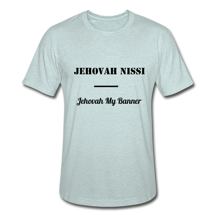 Jehovah Nissi - Lord My Banner - heather prism ice blue