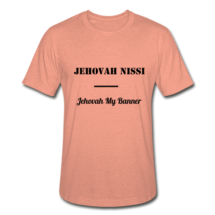 Jehovah Nissi - Lord My Banner - heather prism sunset