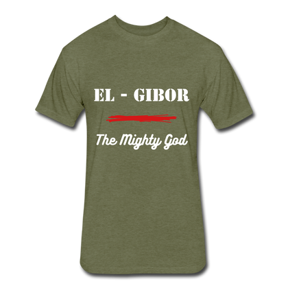 EL - GIBOR - The Mighty God - heather military green