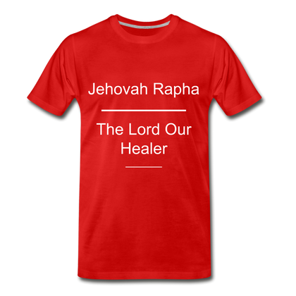 Jehovah Rapha: The Lord Our Healer - red