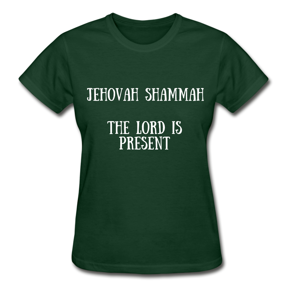 Jehovah Shammah: The Lord Is Present