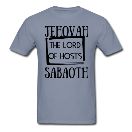 Jehovah Sabaoth: The Lord Of Hosts - blue