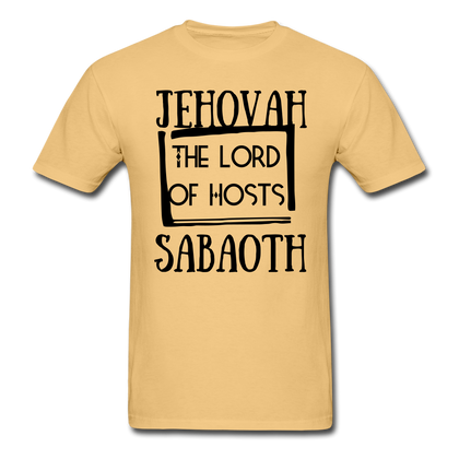 Jehovah Sabaoth: The Lord Of Hosts - light yellow