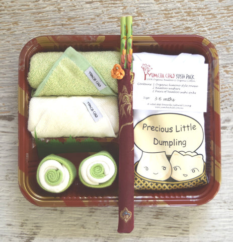 "Precious Little Dumpling Sushi Pack ""green"""