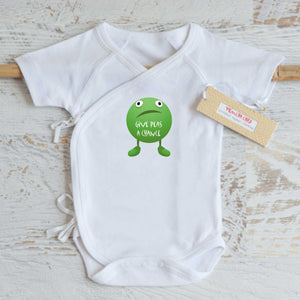 Give Peas a Chance Onesie