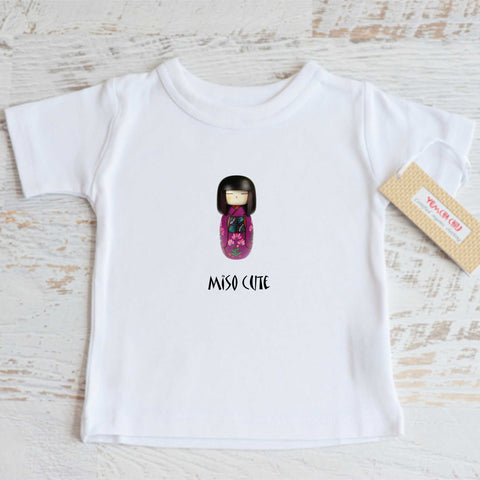 Kokeshi Doll Girl Tee