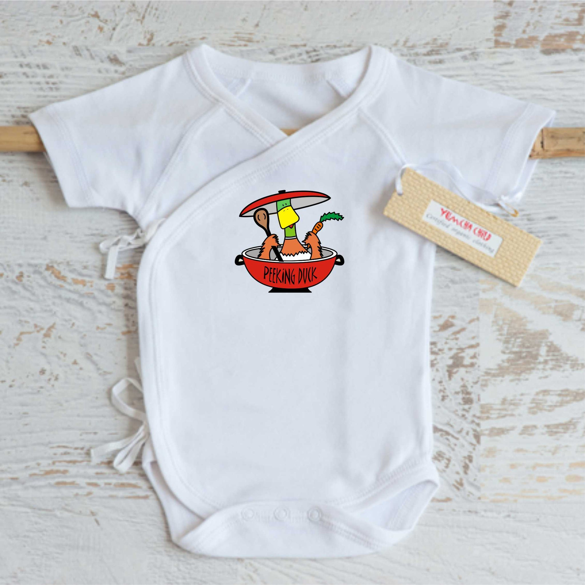 Peeking Duck Onesie