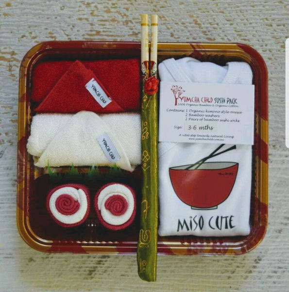 Miso Cute Red Sushi Pack