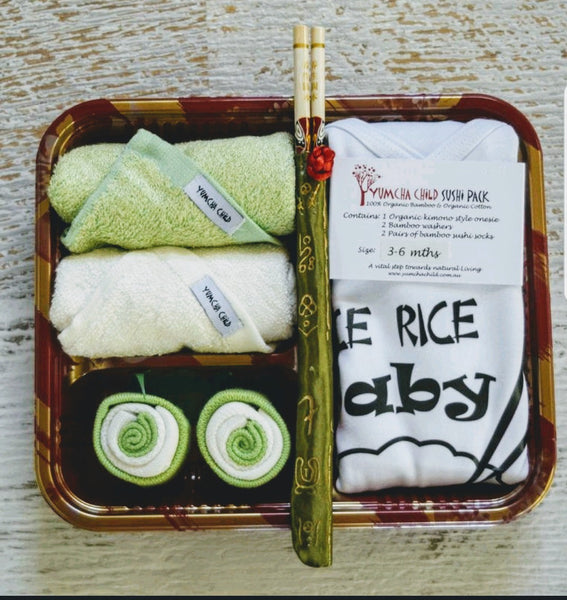 "Rice Rice Baby ""green"" Sushi Pack"