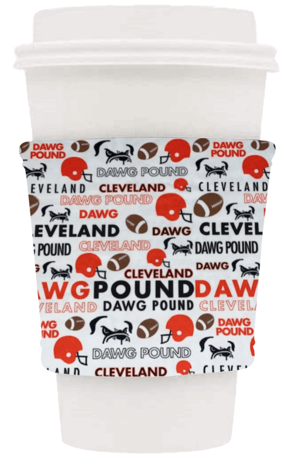 CLEVELAND BROWNS COFFEE COZIE