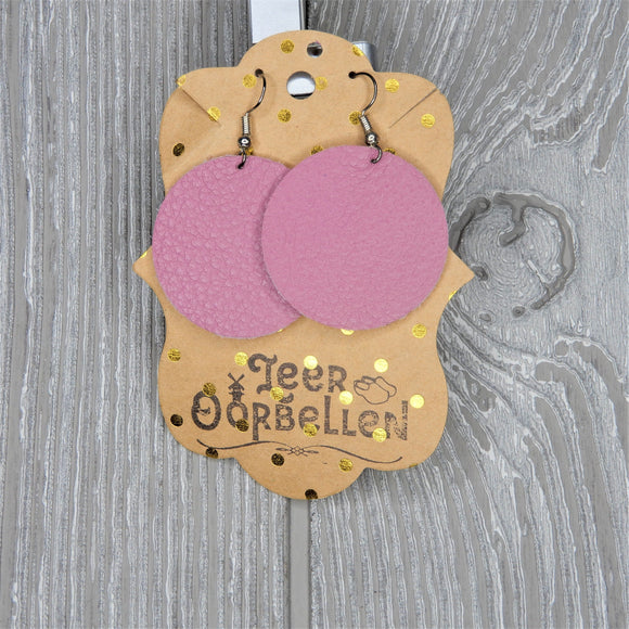 LEER O'ORBELLEN EARRINGS: ROUND