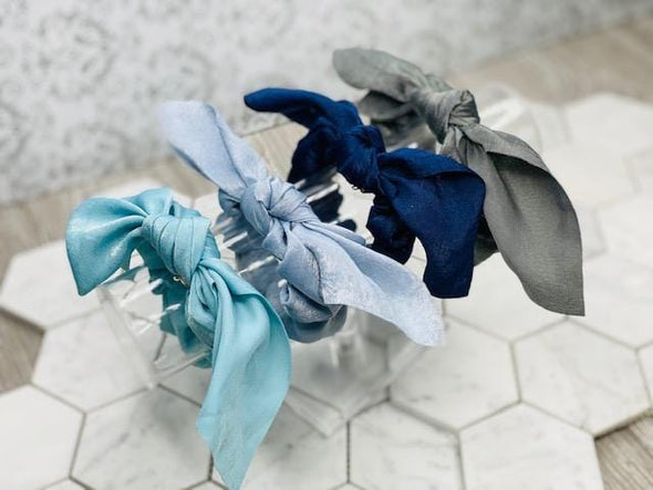 SCRUNCHIE BOW: SOLIDS