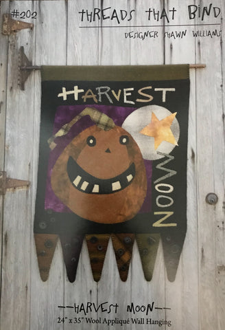 """Harvest Moon"" by Threads that Bind #202"