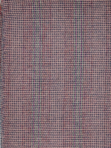 Textured Wool Red Herringbone