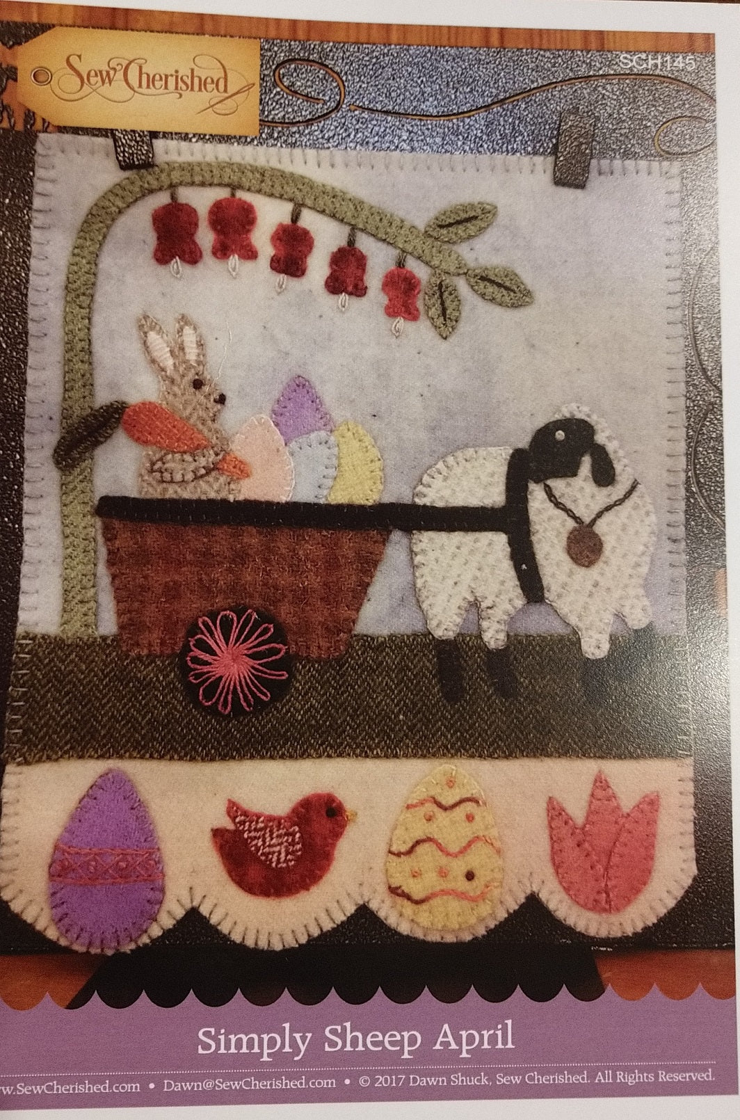 Simply Sheep April by Sew Cherished