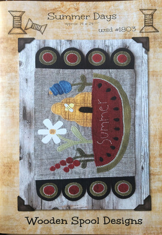 Summer Days by Wooden Spool Designs