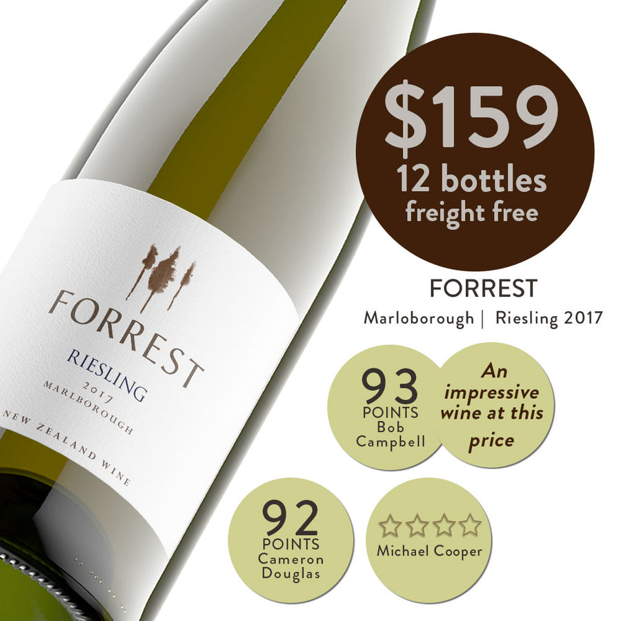 2017 Forrest Riesling
