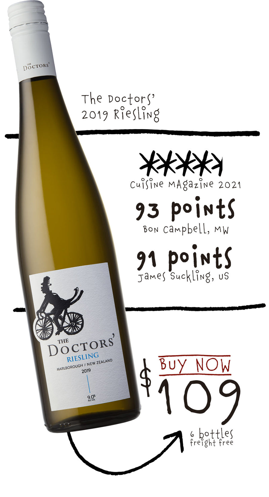 2019 The Doctors' Riesling Special