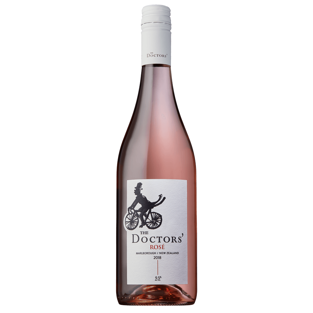 The Doctors 2018 Rose, naturally lighter lower alcohol wine.